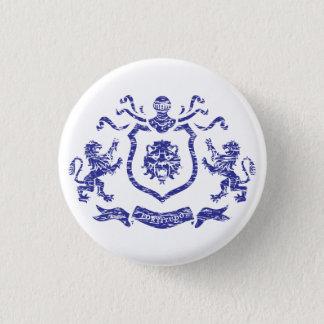 Brasão medieval - botão bóton redondo 2.54cm