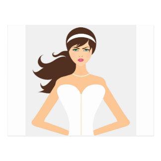 bride-1635 cartão postal