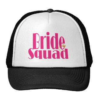 bride-squad-gold. boné