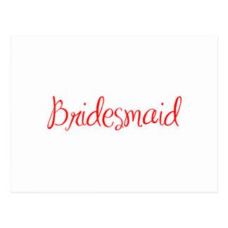 bridesmaid-sexy-red.png cartão postal