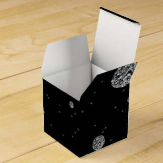 Brilho de prata caixinha de lembrancinhas para festas