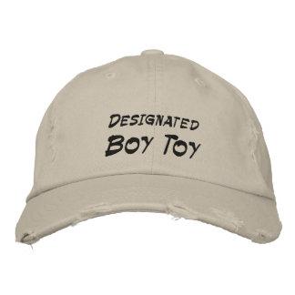 Brinquedo designado do menino boné bordado