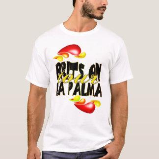 Británico na camisa de Palma T do La da excursão