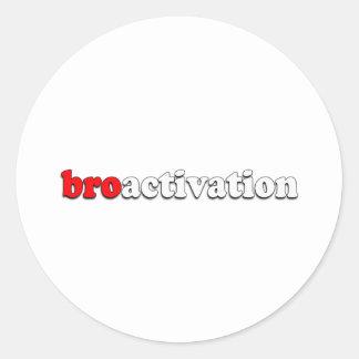 BROACTIVATION ADESIVOS EM FORMATO REDONDOS