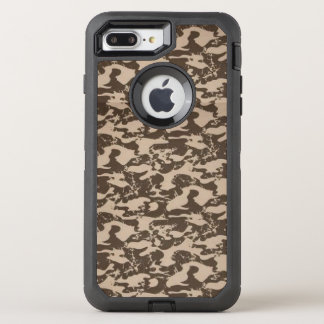 Brown Camo, caso de Otterbox Capa Para iPhone 7 Plus OtterBox Defender