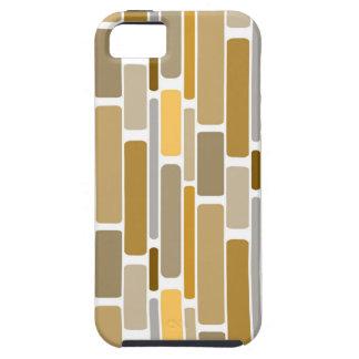 Brown retro capa iPhone 5 Case-Mate