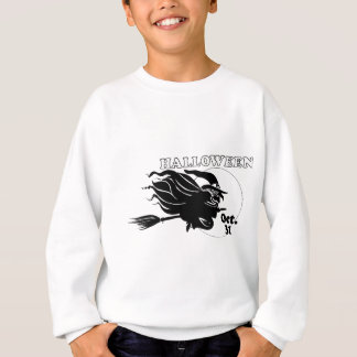 Bruxa do Dia das Bruxas T-shirts