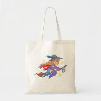 bruxa pequena bolsa tote