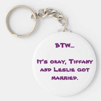 BTW Tiffany e Leslie Chaveiro