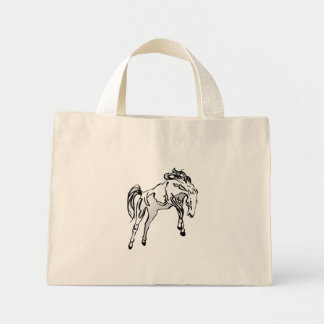 Bucking do cavalo bolsa