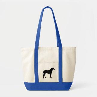 Bucking do cavalo bolsa para compras