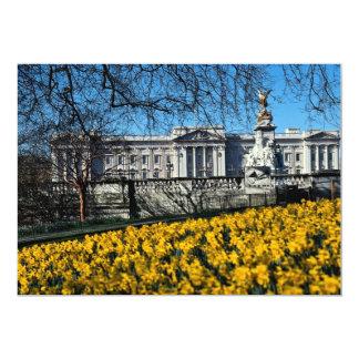 Buckingham Palace, Londres Convite 12.7 X 17.78cm