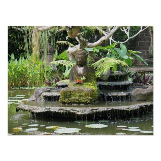 Buddha - Bali Indonésia Impressão