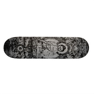 Buddha binário shape de skate 21,6cm
