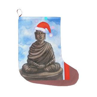 Budismo - Buddha - Feliz Natal Meia De Natal Grande