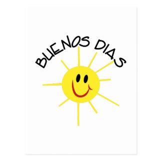 Buenos Dias Cartão Postal
