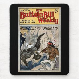 Buffalo Bill 1917 semanal - o miúdo de Apache Mouse Pad
