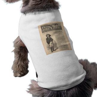 Buffalo Bill - biblioteca 1879 da moeda de dez cen Roupa Para Pet