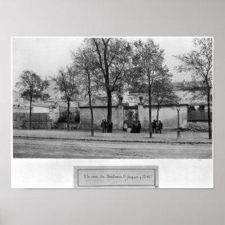 Bulevar Santo-Jacques Poster