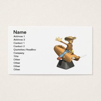 Bull mecânica cartão de visita