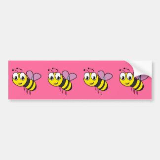 Bumble a abelha, zumbido adesivo para carro