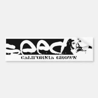 bumpersticker- Califórnia crescida Adesivo Para Carro