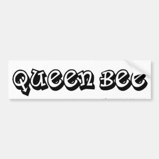 Bumpersticker da abelha de rainha adesivo para carro