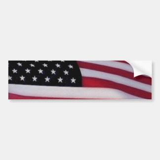 Bumpersticker da bandeira dos EUA Adesivo Para Carro