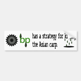 bumpersticker da estratégia do bp adesivos