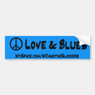 Bumpersticker da paz adesivo para carro