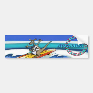 Bumpersticker de Austrália do surf Adesivo Para Carro