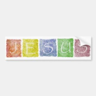 Bumpersticker de Jesus Adesivo Para Carro