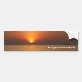 Bumpersticker do foto a cores do nascer do sol da  adesivo para carro