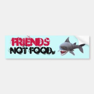 Bumpersticker do tubarão adesivo para carro