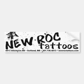 Bumpersticker novo dos tatuagens do ROC Adesivo Para Carro
