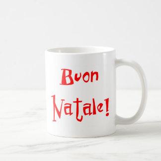 Buon Natale Caneca De Café
