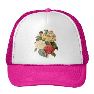 Buquê do casamento vintage, flores de florescência boné