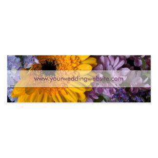 Buquê do verão • Cartão de visita do Web site do c