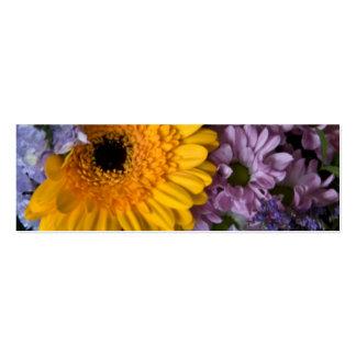 Buquê do verão • Cartão de visita do Web site do
