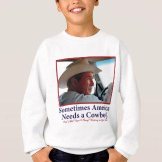 BUSH-HAT. - branco-Vaqueiro-eps Camiseta