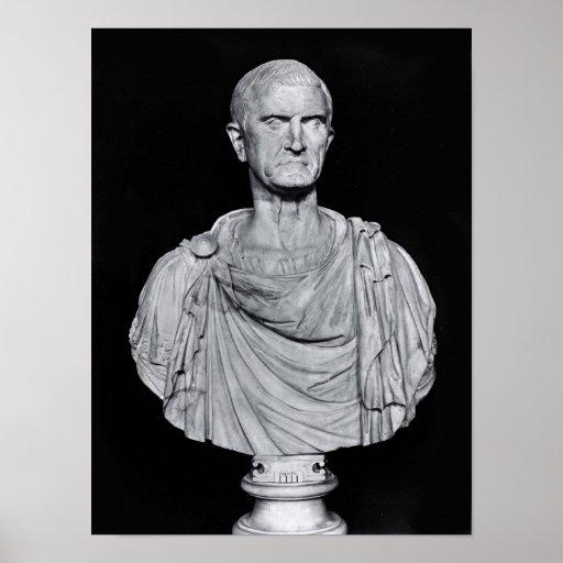 Busto de Marcus Licinius Crassus Posters