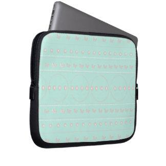 butterflies&polkadots capa para notebook