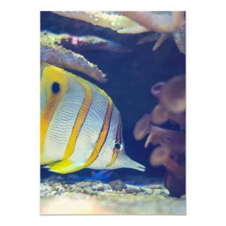 Butterflyfish de Copperband Convites Personalizado