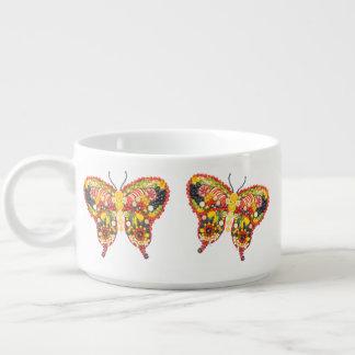 Butterflys da dança tigela de sopa