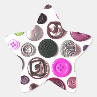 Buttons.jpg Adesivos Em Forma De Estrelas