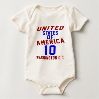 C.C. de Washington dos Estados Unidos da América Macacões