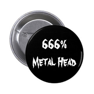cabeça 666 Metal Boton