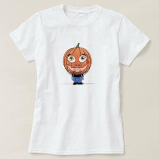 Cabeça da abóbora t-shirt