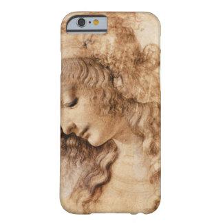 Cabeça da mulher de Leonardo Capa Barely There Para iPhone 6