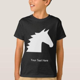 Cabeça de cavalo branco tshirt